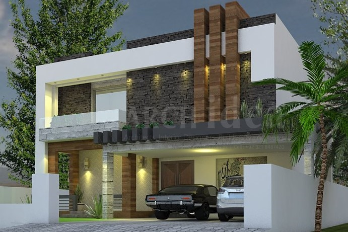 Modern Contemporary 1 Kanal House (DHA)