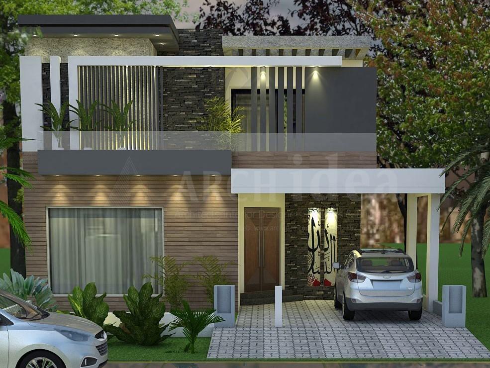Modern 10 Marla House ( Layyah )