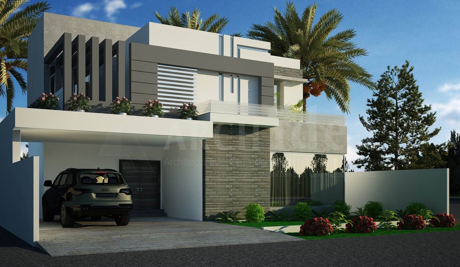 Modern Contemporary 1 Kanal House (DHA)